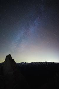 星降る冬夜 - 人生山あり