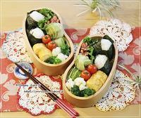 肉団子で白菜巻き弁当とパン焼き・アラカルト♪ - ☆Happy time☆