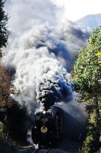 煙の舞-角度をつけて - 蒸気屋が贈る日々の写真-exciteVer