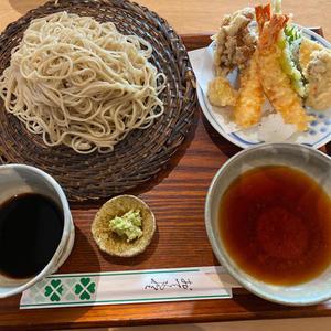 盛り蕎麦と天ぷら。 - 早く人間になりたい。