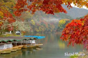 嵐山 - 色は匂へど、散りぬるを