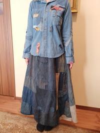 襤褸のスカートファッション - 紅い風