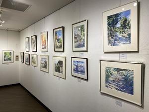 明日から旧自由が丘教室の展示会がダダで始まります - 赤坂孝史の水彩画