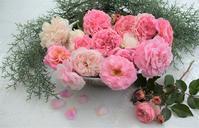 庭のバラで - バラとハーブのある暮らし Salon de Roses