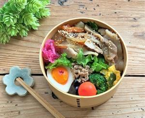 生姜焼きのお弁当と こんな連休でした♪と つぶやきと - おだやかなとき