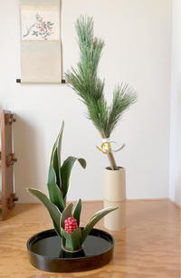 お正月花のご案内 - 自然を見つめて自分と向き合う心の花