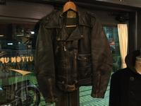 50's Lawrence horsehide MC jacket - BUTTON UP clothing