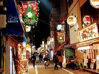 商店街イルミネーション@神楽坂店 - ゲストハウス東京