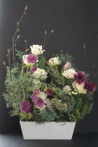 パリスタイル金澤でyumisaitoparisの世界へ - お花に囲まれて