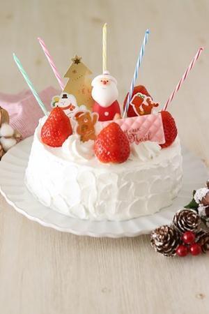 クリスマスケーキキットもらえます! -