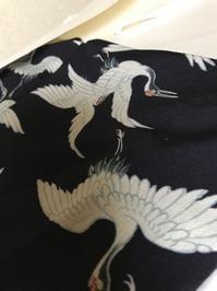 お正月が近いので、この鶴の羽織 - 音作衛門道楽日記