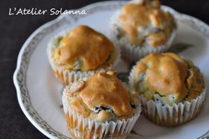 ブロッコリーと豆のケークサレ - 吉祥寺のパン教室 ラトリエ・ソランナ