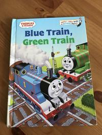 Blue Train, Green Train - 絵本大好きっ子の子育て