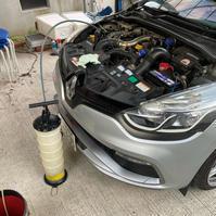 ルーテシア4RS オイル交換73512km - 「ワッキーの自動車実験教室」 ワッキー@日記でごじゃる