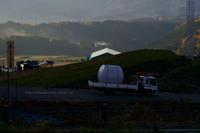 野沢温泉村本日の新長坂GLの連れのプチ空撮付き - 野沢温泉とその周辺いろいろ2