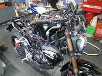 CB150Rにドラレコ - バイクの横輪