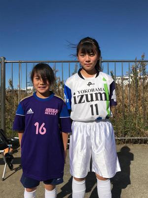 横浜市18区選抜少女サッカー大会 - 横浜ウインズ U15・レディース