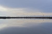 鏡面ウトナイ湖 - やぁやぁ。