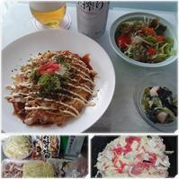 大阪風?広島風?自家製お好み焼き - 気ままな食いしん坊日記2