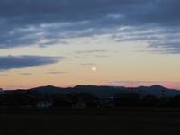 今日の月と山行 - 日々の宝物その2