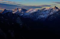 初冬アルプス - 人生山あり