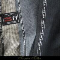 ウィリアム・ハルステッド<ブリティッシュクラシック>の服地 | オーダースーツ - オーダースーツ東京 | ツサカテーラー 公式ブログ