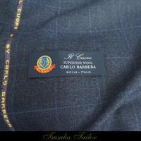 カルロバルベラ<イル・クオーレ>の服地   オーダースーツ - オーダースーツ東京   ツサカテーラー 公式ブログ