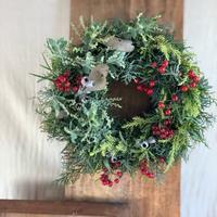 クリスマスフレッシュリース - reco2の花暮らし