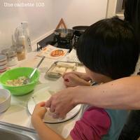 714. 7歳と4◯歳、はじめての春巻き作り - Une cachette 103