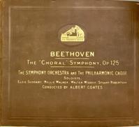 ベートーヴェン交響曲第9番「合唱」/コーツ(指揮) シンフォニー管 - シェルマン アートワークス 蓄音機blog
