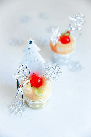 cottaさんレシピ更新 クリスマスにぴったり ふんわりプチりんごパン - のんびりのびのび