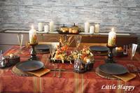 秋が好き!テーブルコーディネート - ~Little Happy~