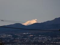 浅間山 雪化粧 (2020/11/29撮影) - toshiさんのお気楽ブログ
