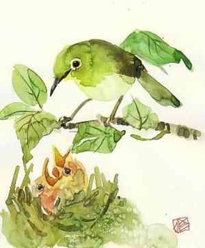 シニアの1日 - ちょっとシニアチックな水彩画家 Watercolor by Osamu 水彩画家のロス日記 Watercolorist Diary