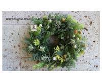 今年もクリスマスリースを作りました🎄2020 Christmas Wreath  One Day Lesson🎄~ - Bouquets_ryoko