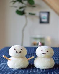 雪だるま - 水戸市(茨城)のパン教室 Fika(フィーカ)  ~日々粉好日~