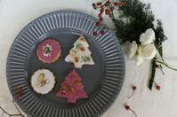 エディブルフラワーのクッキー - mille fleur の花とおやつ