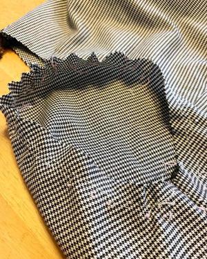 文化通信服装コース ブラウス2  袖付け - 手描きイラストハンドメイド。ゆずの木の雑感。