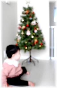ベビたんとクリスマスツリー - Less is more