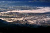 大観峰の朝 - A  B  C