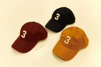 """TheThreeRobbers BB CAP WOOL #3 2021SS""ってこんなこと。 - THE THREE ROBBERS ってこんなこと。"