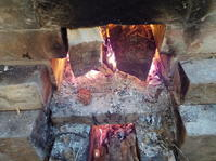 薪窯も焚きました(No.311) - 薪窯冬青 犬と山暮らし