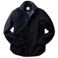 ORIAN オリアン ウール+キルティング シャツジャケット - 下町の洋服店 krunchの日記