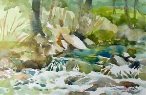 シニアの仕事は病院通い? - ちょっとシニアチックな水彩画家 Watercolor by Osamu 水彩画家のロス日記 Watercolorist Diary