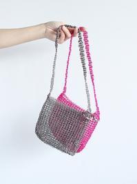 eleven 2ndPE Cord Mini Shoulder Bag - 『Bumpkins putting on airs』