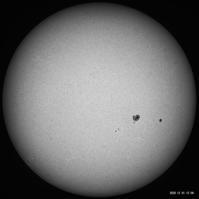 12月1日の太陽 - お手軽天体写真