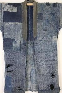 古布木綿刺し子襤褸 Japanese Antique Textile Sashiko Boro - 京都から古布のご紹介