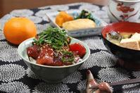 マグロ漬け丼 - 60代からの女道