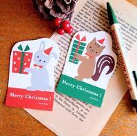 動物のクリスマスカード - mon livre diary