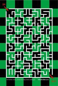 迷路-120/Maze-120/Labyrinthe-120 - セルリカフェ / Celeri Café